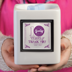 10 year anniversary Thank You Scentsy Warmer