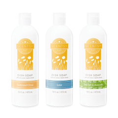 Scentsy Dish Soap Pack of 3