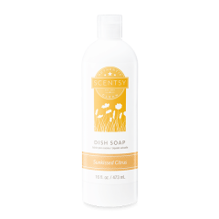 Scentsy Sunkissed Citrus Kitchen Dish Soap