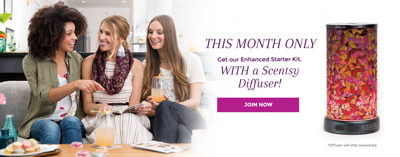 Join Scentsy Diffuser