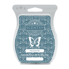Mountain Sky Scentsy Fragrance Bar