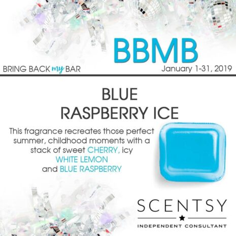 Scentsy Blue Raspberry Ice