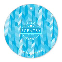 Scentsy Blue Raspberry Ice Scent Circle