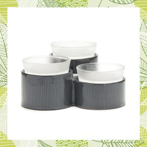 Accord Three Dish Scentsy Warmer Gray