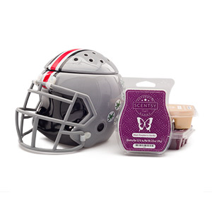 College Football Helmet Scentsy Warmer
