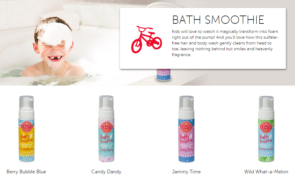 What is Scentsy Kids Bath Smoothie? | Scentsy® Online Store