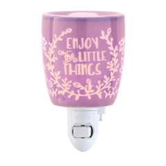 Enjoy The Little Things Nightlight Scentsy Warmer