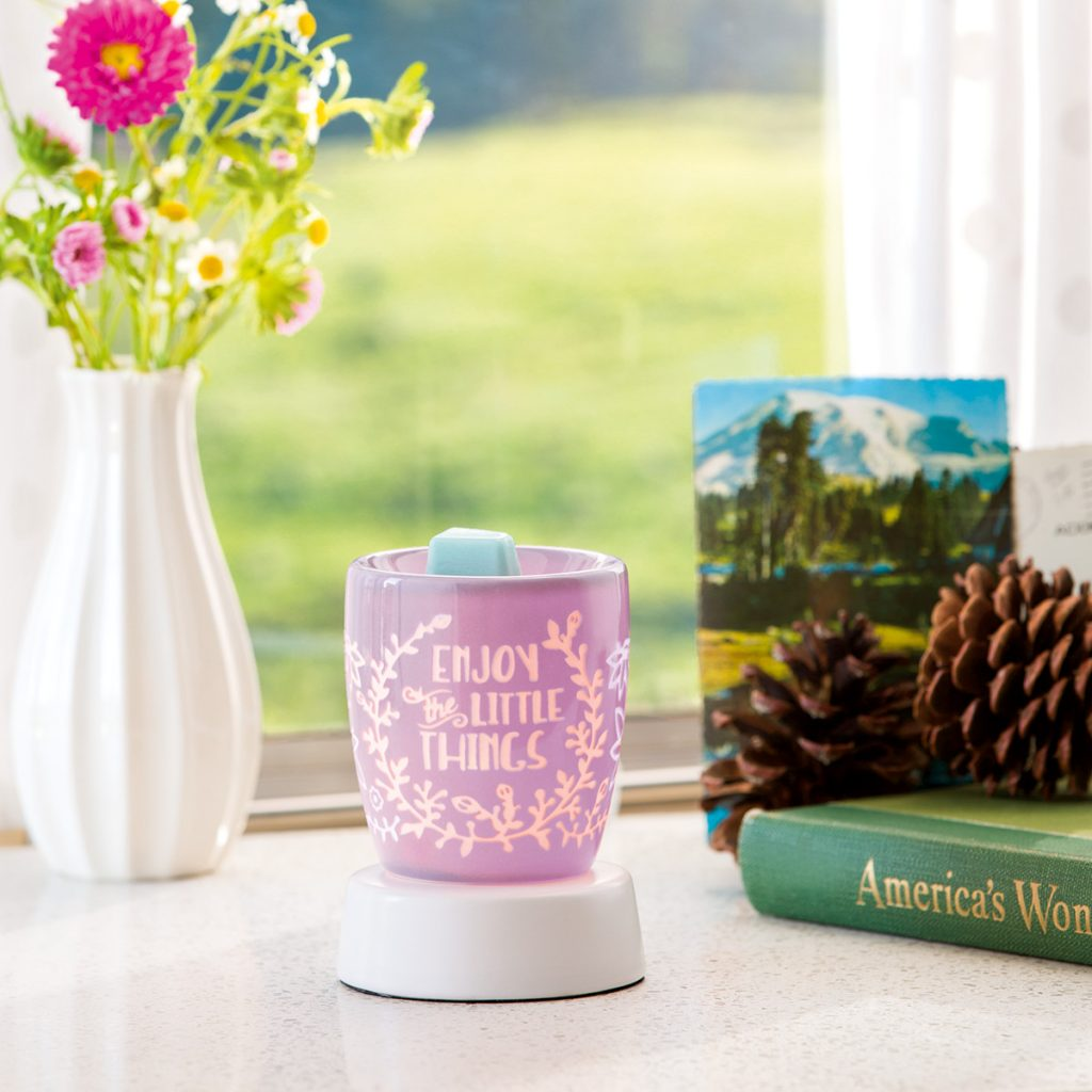 Enjoy The Little Things Nightlight Scentsy Warmer Base