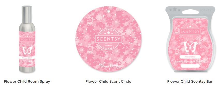 Flower Child Scentsy