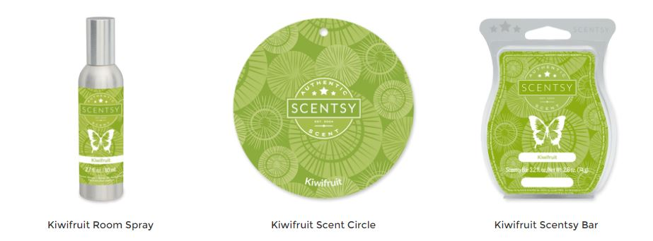 Kiwi fruit Scentsy Wax Bar