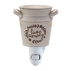 Live Simply Nightlight Scentsy Warmer