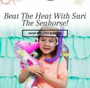 Suri Seahorse Scented Buddy