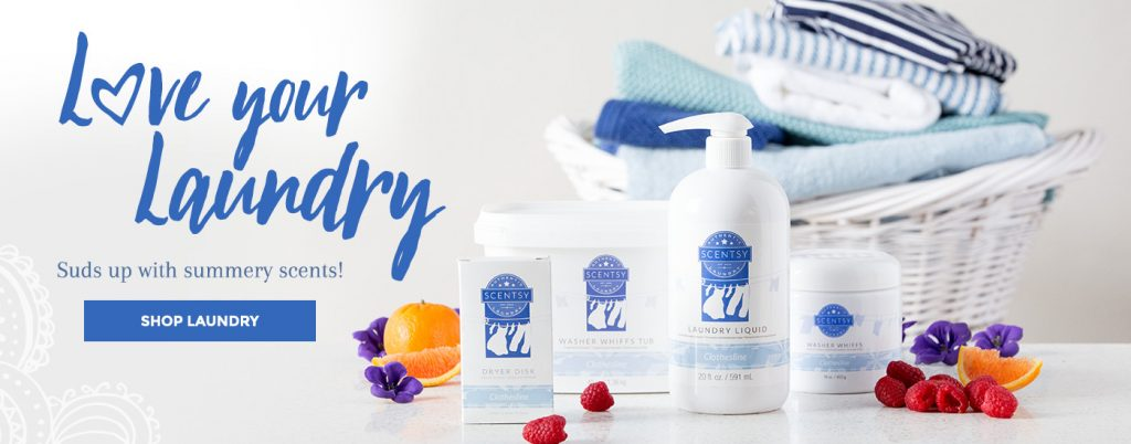 love your laundry scentsy