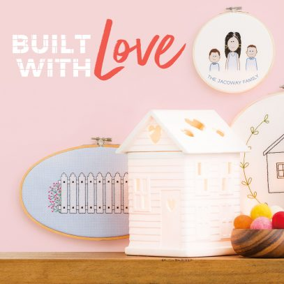 Built With Love Scentsy Warmer
