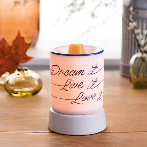 Dream Live Love Scentsy Warmer
