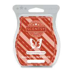 APPLE CINNAMON STICKS SCENTSY BAR