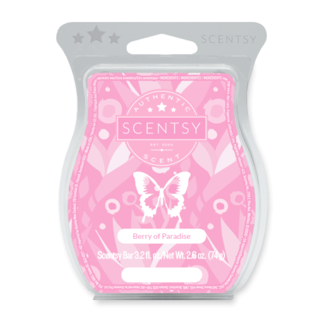 BERRY OF PARADISE SCENTSY BAR