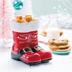 Scentsy Santa Boots Warmer