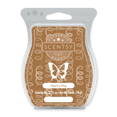 HUG IN A MUG SCENTSY BAR