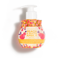 PEACH WHITE AMBER HAND SOAP