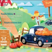 Pumpkin Delivery Scentsy Warmer Truck