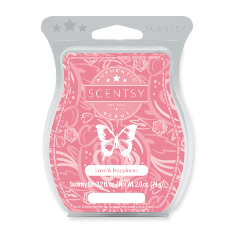 LOVE HAPPINESS SCENTSY BAR