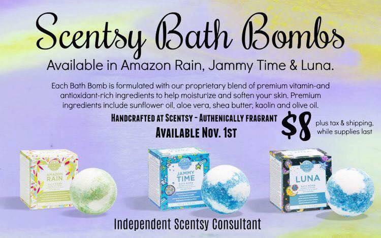 Scentsy bath bomb
