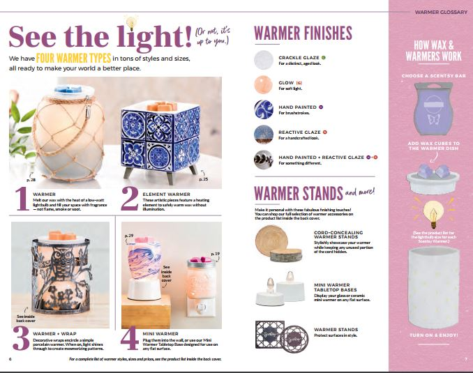 scentsy 2018 spring and summer catalog