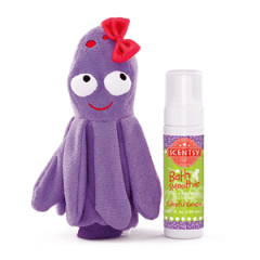 BUBBLES THE OCTOPUS SCRUBBY BUDDY