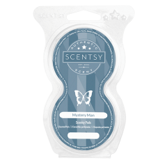 MYSTERY MAN SCENTSY POD TWIN PACK