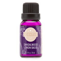 SANDALWOOD LEMON BASIL NATURAL OIL