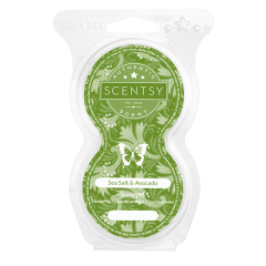 SEA SALT AVOCADO SCENTSY POD TWIN PACK