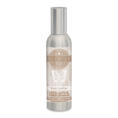 SHEER LEATHER SCENTSY ROOM SPRAY