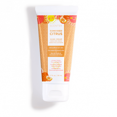 SUNKISSED CITRUS HAND CREAM