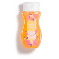 PEACH & WHITE AMBER SCENTSY BODY WASH