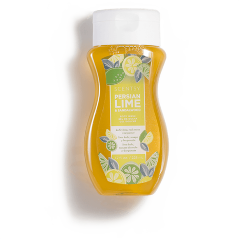 PERSIAN LIME & SANDALWOOD SCENTSY BODY WASH