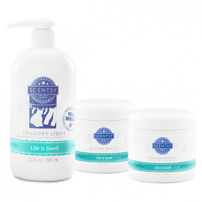 LIFE IS SWELL SCENTSY LAUNDRY BUNDLE