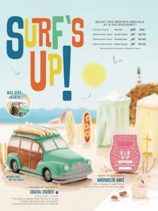SCENTSY COASTAL CRUISER SURF WARMER 2