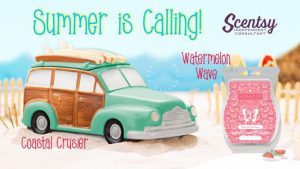 SCENTSY COASTAL CRUISER SURF WARMER