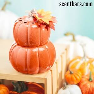 Fall Stacked Pumpkins Scentsy Warmer