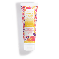 PEACH & WHITE AMBER Scentsy BODY CREAM