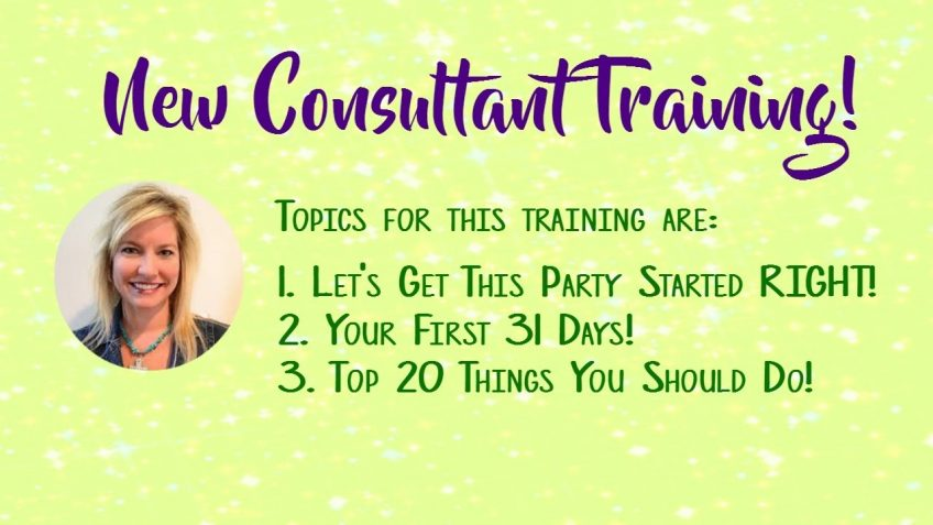 Scentsy New Consultant Training