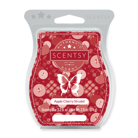 Apple Cherry Strudel Scentsy Wax Bar