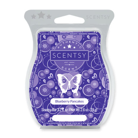Blueberry Pancakes Scentsy Wax Bar