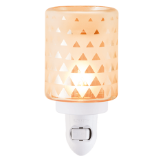Geo Mini Scentsy wax warmer