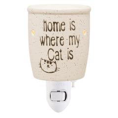 Home Is Where My Cat Is Scentsy Mini Warmer