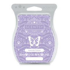 Lavender Cotton Scentsy Wax Bar