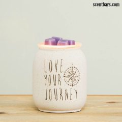 Love Your Journey Scentsy Wax Wamer