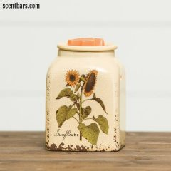 Rustic Sunflower Scentsy Wax Warmer