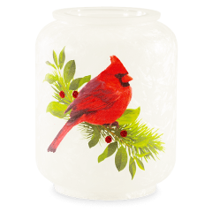 Christmas Cardinal Scentsy Candle Warmer